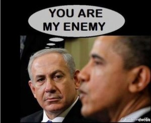 Netanyahu on Obama