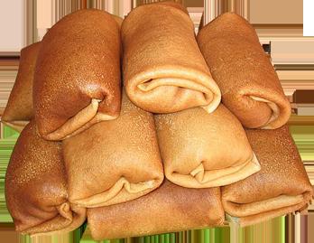 Aus der russischen Küche: Rezept Nr. 21 – Blinis (Pfannkuchen ...