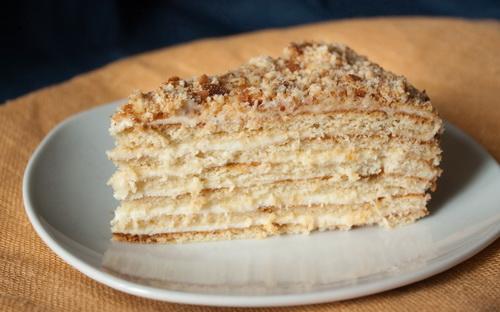 Aus Der Russischen Kuche Rezept Nr 20 Festtagstorte Medowik