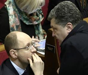 Poroshenko-vs-Yazenyak-12-12-14